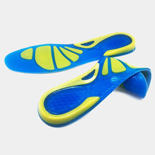 Buy Silicon Insoles Gel Orthopedic Foot Care For feet Shoes Sole Sport Insoles Shock Absorption Pads Arch Orthotic Pad Insole directly from merchant!