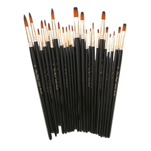 Watercolor Brushes-Set Painting-Brush Art-Supplies Gouache Nylon Pointed-Tip Different-Shape