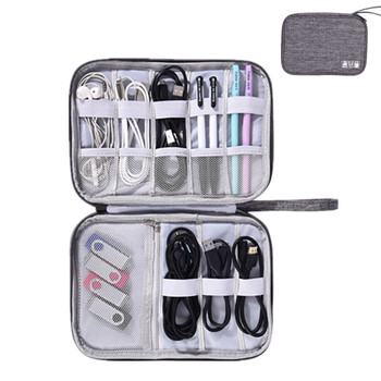 Multifunction Travel Accessory Digital Bag USB Charger Cable Earphone Storage Pouch Electronic Accessory Organizer Package 2020