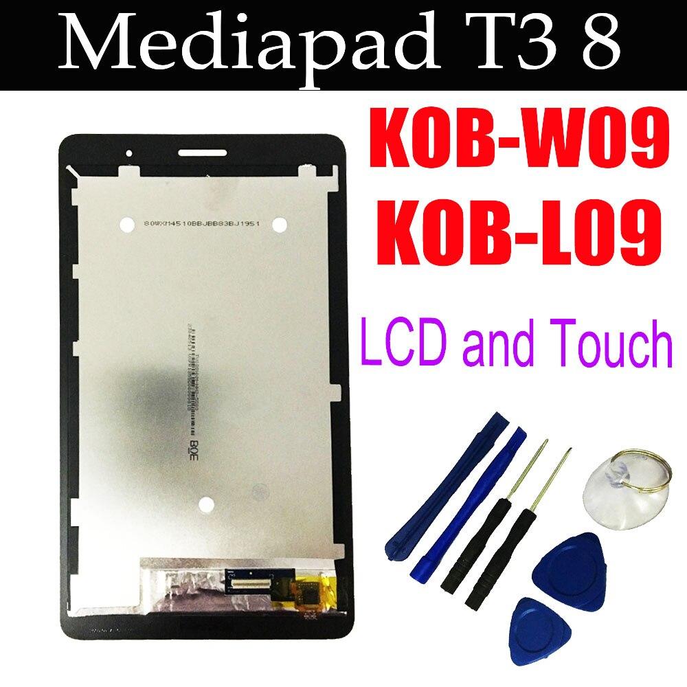 Оригинальный сенсорный экран l'c'd для Huawei MediaPad T3 8,0, планшетный ПК с сенсорным экраном, с экраном, который можно носить с собой, с диагональю 8,0,...
