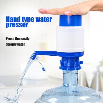 Przenośny butelka do picia wody pompa butelkowanej wody pitnej prasa ręczna rura wymienna dozownik z ręczną pompą tanie i dobre opinie OLOEY Z tworzywa sztucznego