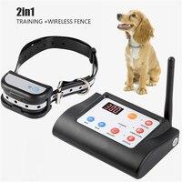 Drahtlose Elektrische Zaun Hund Kragen Pet 2 In 1 Zaun Training Pet Elektronische Zaun Mit Ton Und Schock Kragen Hund zubehör
