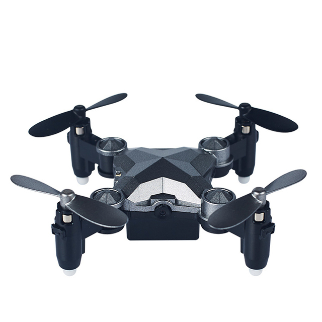 NEW Folding Unmanned Aerial Vehicle Travel Watch Four-axis Remote Control Intelligent WIFI Mini Folding Gravity Induction Drone