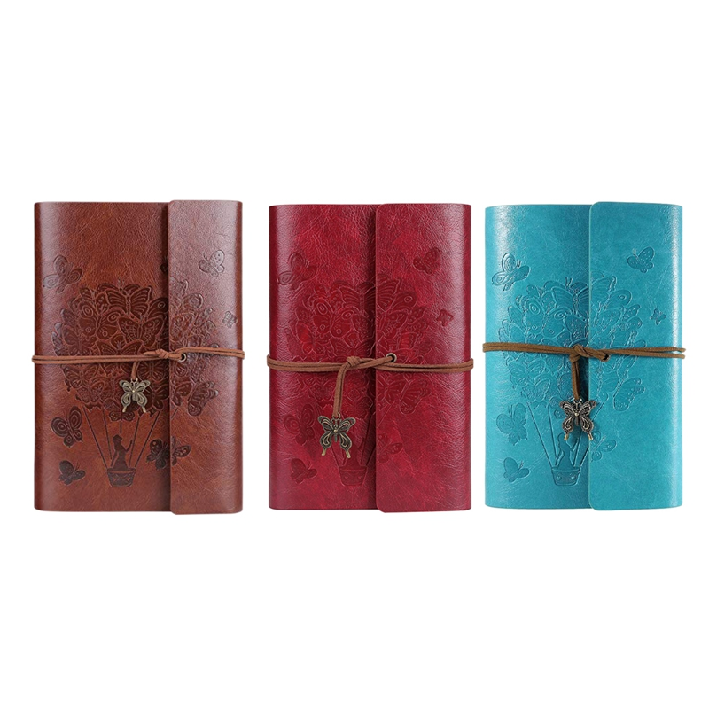 Journal Ruled Refillable Notebook Writing with Spiral Diary Sketchbook
