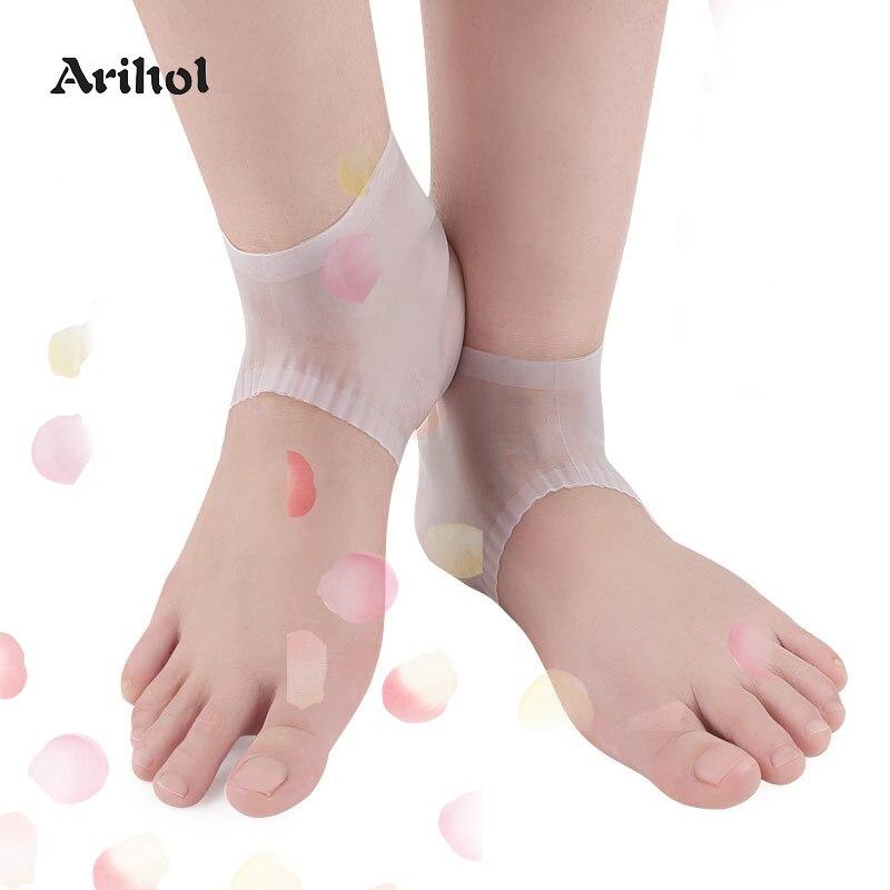 Moisturizing Socks For Cracked Heels Socks Treat Dry Feet Pain Relief For Rough Skin With Foot Lotion Spa Socks For Women Men