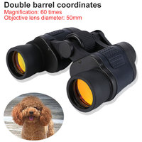 60X60 High Clarity Binoculars 3000M Waterproof High Power Fixed Zoom Optical Telescope Outdoor Night Vision binocular