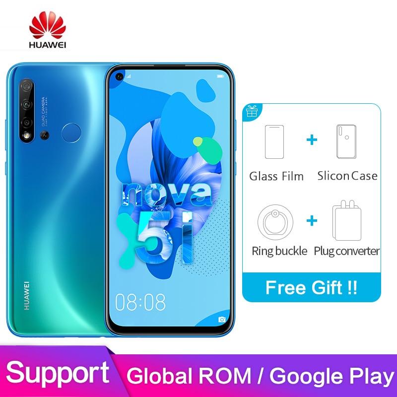 Huawei Nova 5i Global ROM Support Google logiciel 6GB 128GB 2310*1080P 6.4
