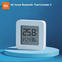 Najnowszy XIAOMI Mijia Bluetooth termometr 2 bezprzewodowy Bluetooth inteligentny elektryczny cyfrowy termometr higrometr praca z aplikacją Mijia