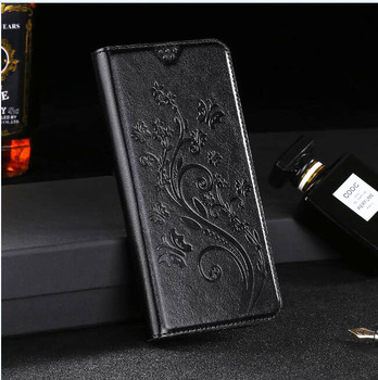 Flip Leather wallet Case For Asus Zenfone Go ZB500KL ZB500KG 3 4 Max ZC520TL ZE552KL ZC520KL ZC554KL ZC520 KL Phone Black Cover image