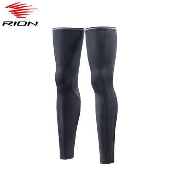 Rion unisex bezerro mangas de compressão esportes ao ar livre correndo basquete futebol mangas perna proteção uv ciclismo aquecedores perna 1