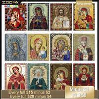Diy Wächter Engel Orthodoxe Icons 5D Diamant Stickerei Religionen Diamant Malerei Mosaik Religiöse Kristall Handwerk Neue Verkauf 4Cd01