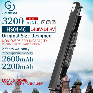 Image 1 - HS03 HS04 HSTNN LB6V HSTNN LB6U 807957 001 New Laptop Battery for HP Pavilion 14 ac0XX 15 ac0XX 240 245 250 255 G4 Notebook PC