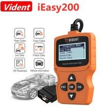 Vident ieasy200 obdii/eobd + pode leitor de código poderoso para verificação de veículo, ferramenta de luz
