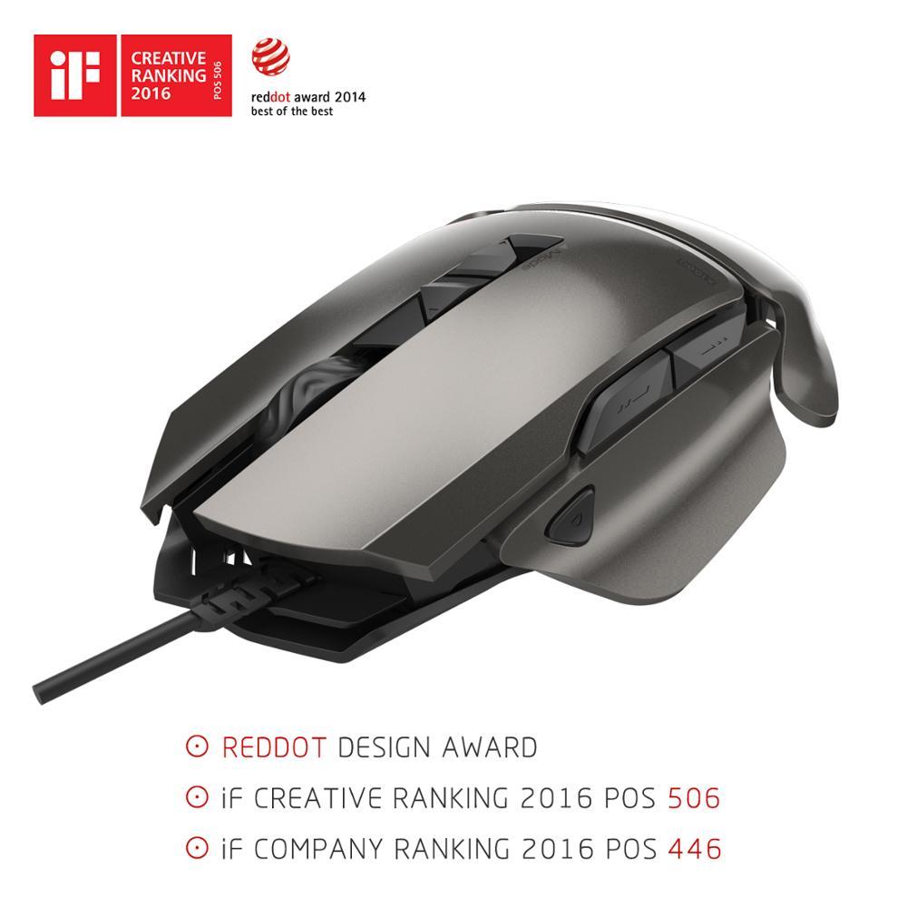 USB Professional Wired Optical Gaming Mouse 8200DPI Ajustável 7 Botões com luz de Fundo Colorido Para Laptops Desktops Gamers Pro