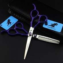 6 inch Professional Hair Scissors Set,Barber Cutting & Thinning Hairdressing
