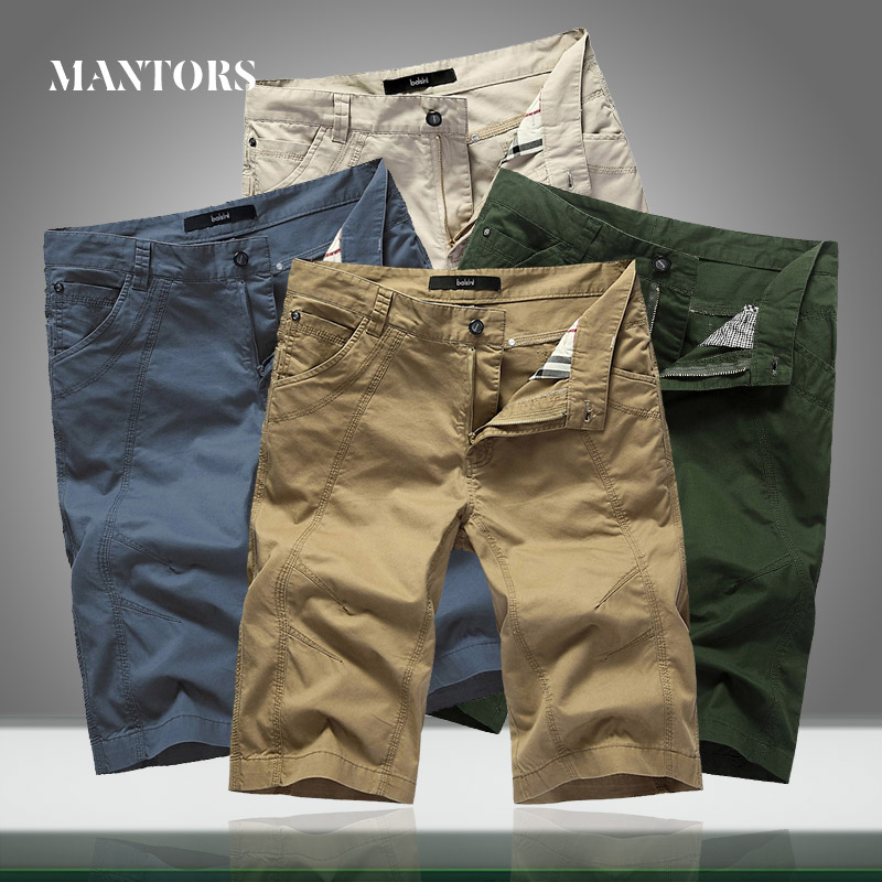 2020 Summer New Men Military Shorts Casual Loose Knee Length Mens Cargo Tactical Shorts Workout Gym Solid Short Trousers Male