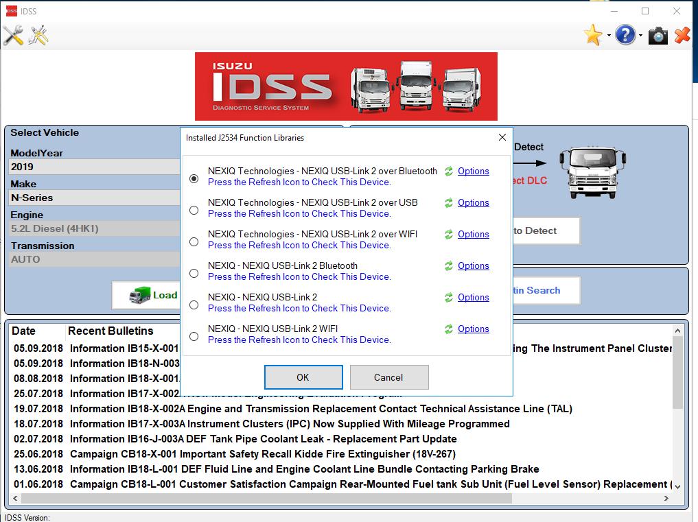For Isuzu Diagnostic Service System (US- IDSS) [2020]+Keygen