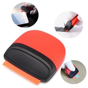 Image 5 - FOSHIO 100pcs lame in plastica a doppio bordo per involucro in fibra di carbonio pellicola per rasoio raschietto colla rimozione bolle tergipavimento strumenti per tinta