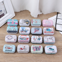 Small Storage Gift-Box Coin-Earrings Candy-Box Boxes Pill-Case Jewelry Mini Colorful