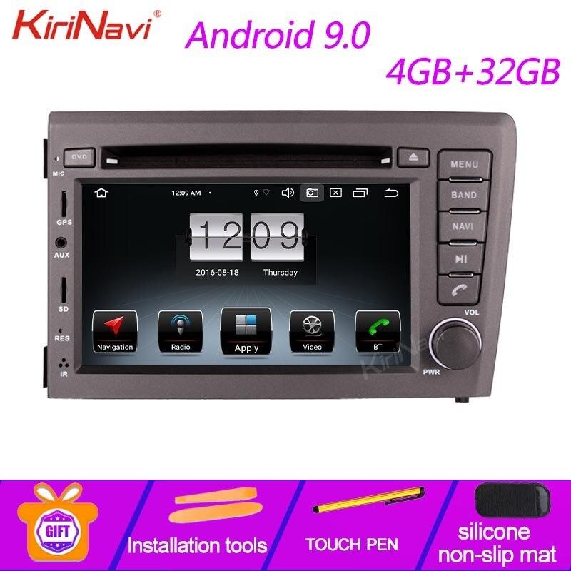 KiriNavi 7 pouces IPS écran Android 9.0 autoradio pour volvo s60 v70 xc70 voiture DVD lecteur multimédia Auto GPS Navigation 2000-2004