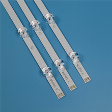 Tira da luz de fundo da tevê para lg 32lb550v 32lb551v 32lb552v led strip kit barras para lg 32lb560v 32lb561v 32lb563v lâmpadas banda led matriz