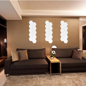 Image 5 - NEW 10pcs Quantum lamp led modular touch sensor sensitive lighting lamp magnetic creative decoration wall lampara LED night ligh