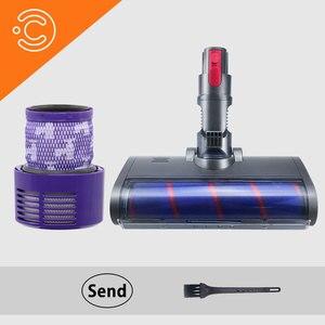 Odkurzacz zmywalny filtr Hepa elektryczna szczotka podłogowa dla Dyson V10 Cyclone Animal Absolute Total Clean filtry próżniowe