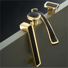 Furniture Cabinet Knobs and Handle Kitchen Handle Drawer Knob Cabinet Pull Stainless Steel Kitchen Handle Nordic Black Handle