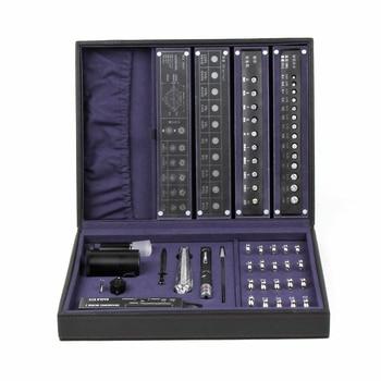 Caja de Herramientas de identificación y prueba profesional, clasificación diamante 4C, colorimetría, conjunto de herramientas grande y pequeño