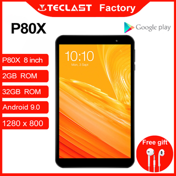 Teclast Tablets P80X Android 9.0 Netbook Phablet 8 inch 1280 x 800 SC9863A Octa Core 2GB RAM 32GB ROM Tablet PC GPS Dual Cameras