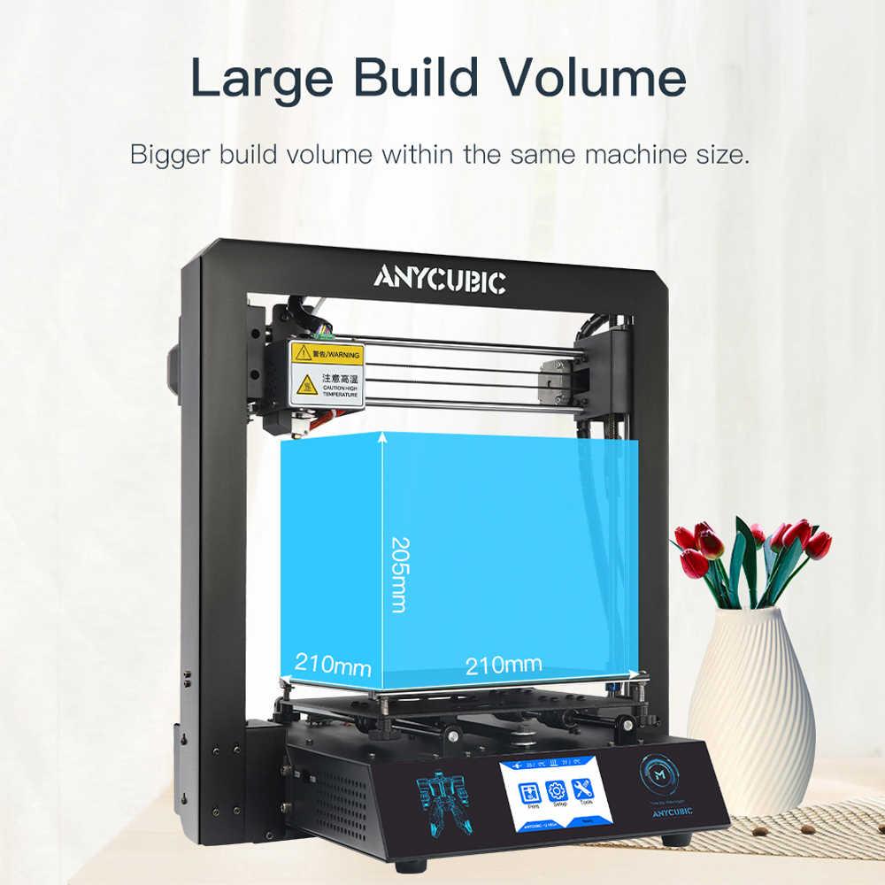 Дешевый ANYCUBIC 3d принтер I3 Мега промышленная решетка платформа все металлические плюс размер Impresora настольный 3d DIY Kit imprimante