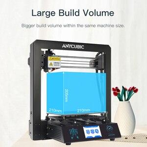 Image 2 - Tanie ANYCUBIC 3D drukarki I3 Mega przemysłowe kraty platformy wszystkie metalowe Plus rozmiar Impresora pulpit 3d DIY Kit imprimante