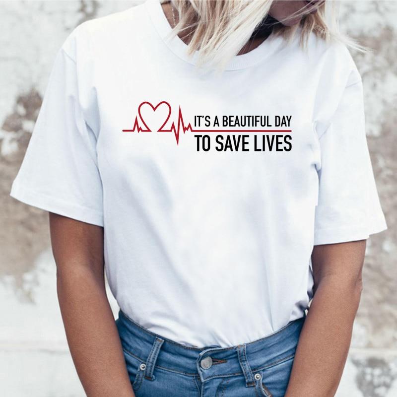 Greys Anatomy You're My Person Top New T Shirt Women Femme T-shirt Korean Style Harajuku Female Ulzzang Aesthetic Tee Shirt