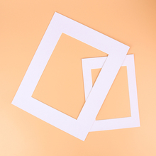Photo Mats Rectangle/Oval Paper Mounts Unique Textured Surface For 7/10 inch Picture Frames Passe-Partouts