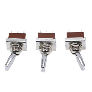 Image 5 - 1pcs KN3 203 toggle switch 3 Positions rocker  ON OFF ON 6pins  DPDT 3A/250V Handle Switch