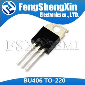 Image 3 - 10pcs/lot New BU406 TO 220  SILICON NPN SWITCHING TRANSISTOR