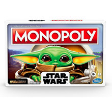 New Hasbro Monopoly Board Game Star Wars Mandalorian Card Game Kids Toys Fun Friends Family Party Strategy Game New Year Gift
