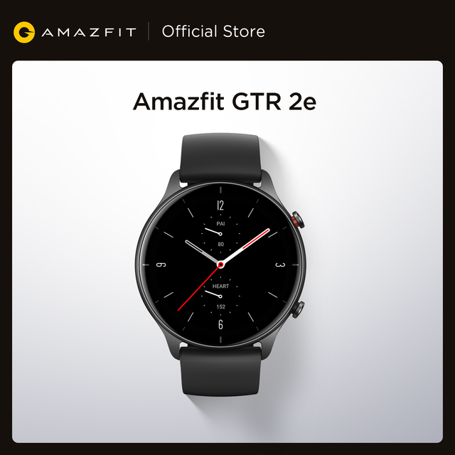 2021 nova amazfit gtr 2e smartwatch 1.39 amamamoled sono qualidade monitoramento freqüência cardíaca 5 atm relógio inteligente para andriod para ios 1