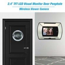 Дверной глазок беспроводной зритель камера Электрический глазок дверной звонок монитор ЖК-дисплей визуальный монитор дверная камера видео