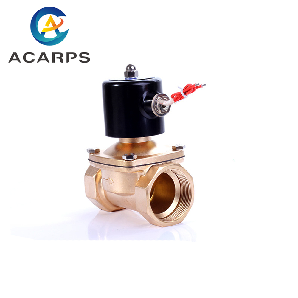 """3/4""""NPT 24V Normally Closed Solenoid Valve Water 2 Way NBR Seal for Zero Pressure(China)"""