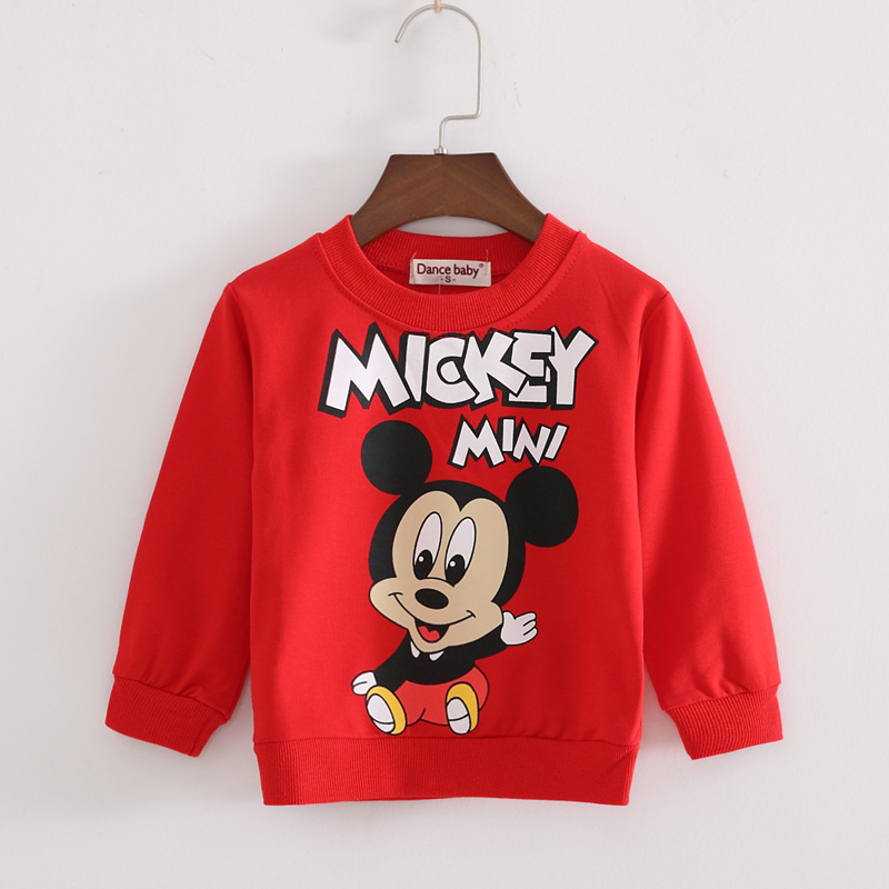 2019 Unisex Kids Baby Boys Girls Toddlers Hoodies Cartoon Tracksuit  Cute Sweatshirts Boys Sweatshirt