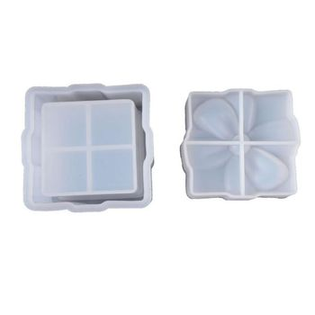 1Set Silicone Bow Tie Box Mold DIY Jewelry Making Necklace Pendant Mould Epoxy Resin Handmade Crafts Tool 1set diy 100
