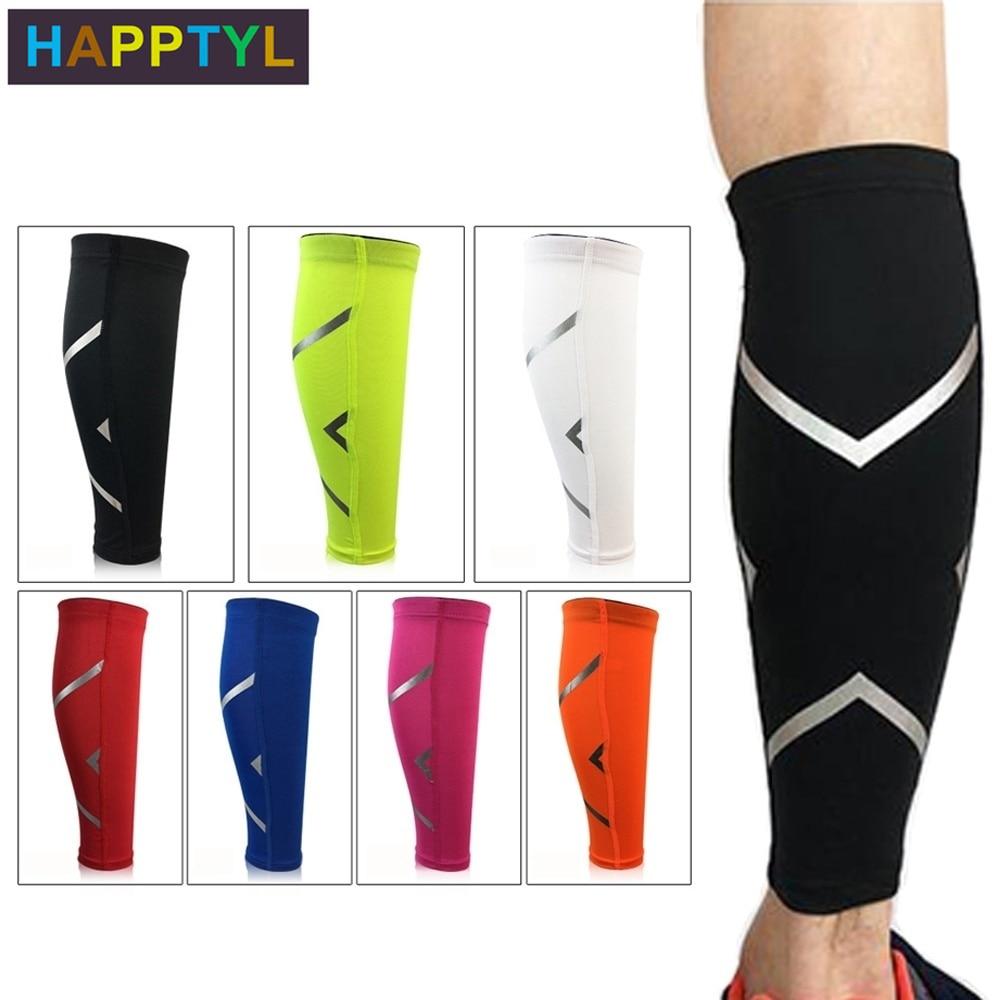 HAPPTYL 1Pcs Calf Compression Sleeves For Men & Women - Leg And Shin Compression Sleeves For Runners, Cyclist - Shin Splint