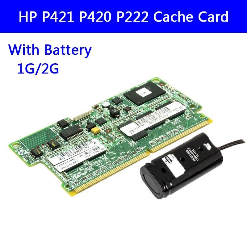 671353-001 para hp Cache P421 P420 P222 Cartão Disposição 1g 2g 631681-b21 633543-001