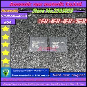 Image 1 - Aoweziic 100% nouvelle puce mémoire originale THGBMAG6A2JBAIR BGA
