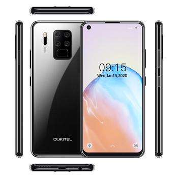 """4G LTE Android 9.0 Smartphone OUKITEL C18 Pro 4G RAM 64G ROM Mobile Phon 6.55""""HD  MTK6757 Octa Core 16MP 4 Cameras 4000mAh 5V2A 5"""