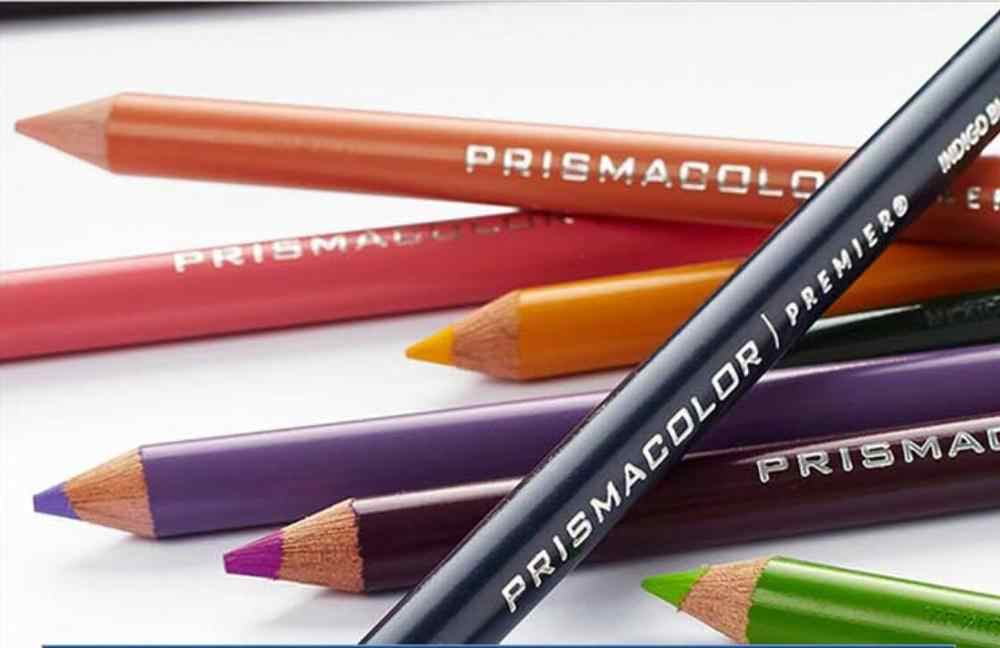 US 72 colores arte crudo dibujo lápiz graso 3,8 MM suave gran núcleo lápiz caja de hierro para Sanford Prismacolor lápiz adulto niños lápiz