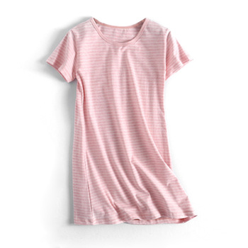 Teenager Girls Casual Dresses Summer Kids Cotton Striped Dress for Girl Costumes Children Clothes Toddler Girl Nightgowns tanie i dobre opinie Dziewczyny