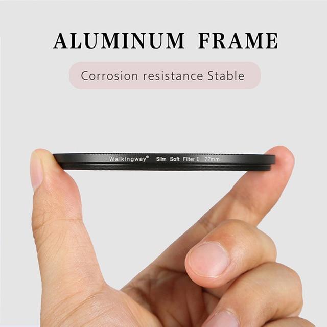 Фото фильтр для камеры walkingway с мягким фокусом фильтр объектива