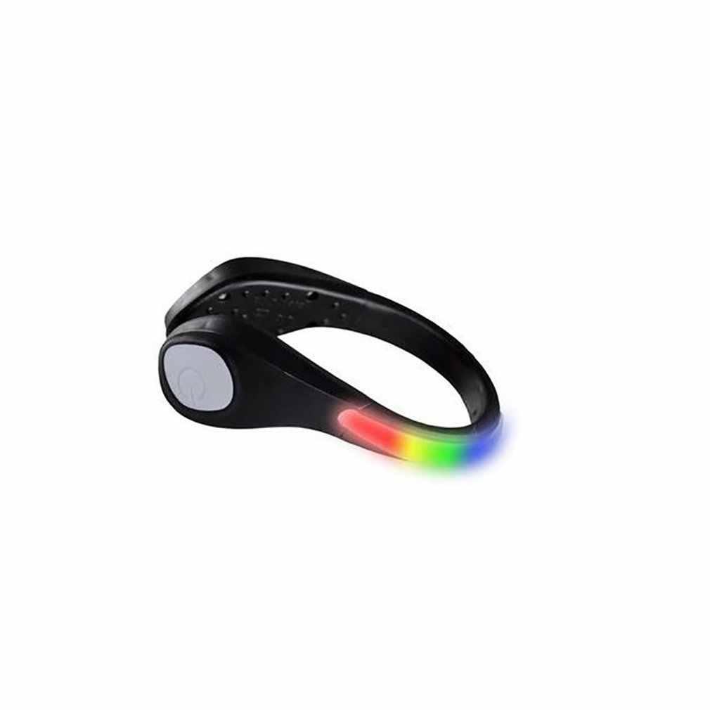 Mode Led Schoenen Clip Lichten Sport Lichtgevende Outdoor Veiligheid Signaal Waarschuwingslampje Nacht Usb Opladen Voor Running